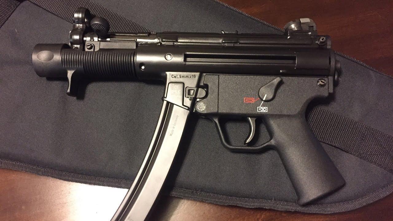 Heckler Amp Kock SP5K NEW GUN Unboxing YouTube