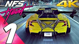 NEED FOR SPEED HEAT - Gameplay Walkthrough Part 1 - Prologue (Full Game) 4K 60FPS