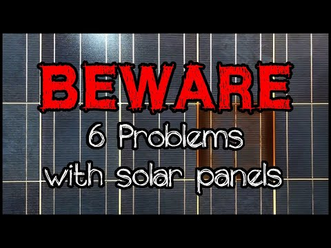 Common problems with solar panels