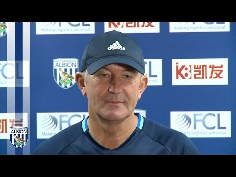 PRESS CONFERENCE: Tony Pulis speaks to the media ahead of Albion's trip to AFC Bournemouth