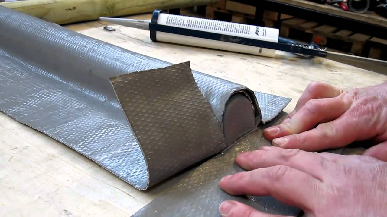 Perform flexible roof flashing part 4 youtube for Flexible roofing material