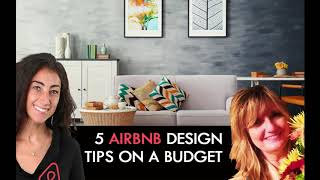 Gambar cover Five Airbnb Design Tips on a Budget [Airbnb Entrepreneur Podcast #19 ]