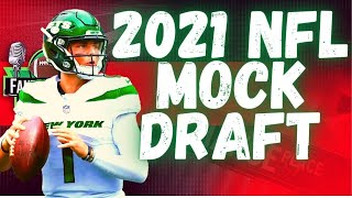 2021 NFL Mock Draft - 2 Rounds With Trades