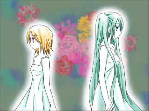 Hatsune Miku x Kagamine Rin:  とある娼婦の恋 -- English Sub + Romaji