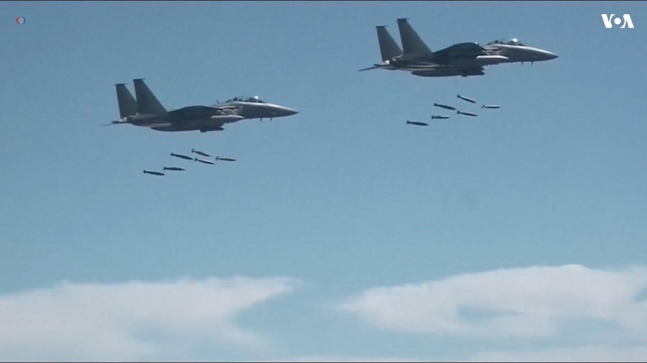 US Flies Bombers, F-35 Fighter Jets Over Korean Peninsula