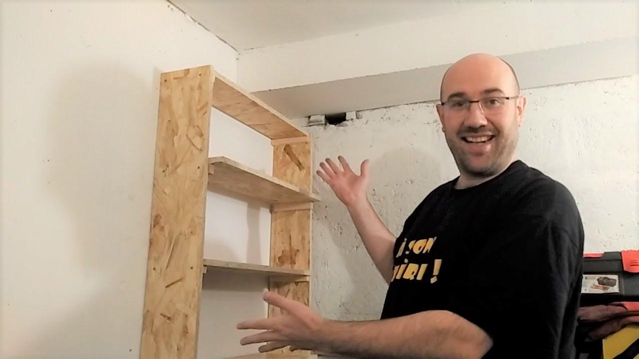 atelier cave 7 etagere de rangement