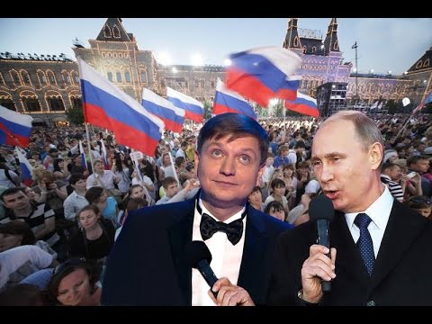"""VLADIMIR PUTIN VERY GOOD!"" Song claim to participate in the contest ""Eurovision 2017"""