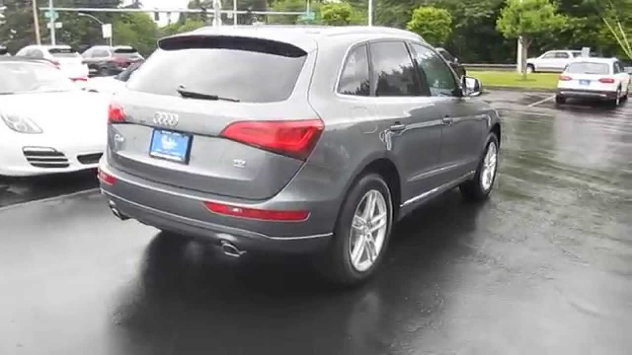 2014 Audi Q5 Monsoon Gray Metallic Stock 109939 Walk
