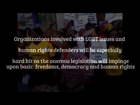 Uganda House Anti-NGO Bill Rally 09/12/15