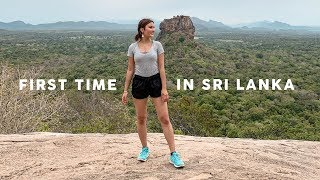 First Time In Sri Lanka! Sigiriya Rock & Incredible Elephant Safari⎮Cinematic Travel Vlog