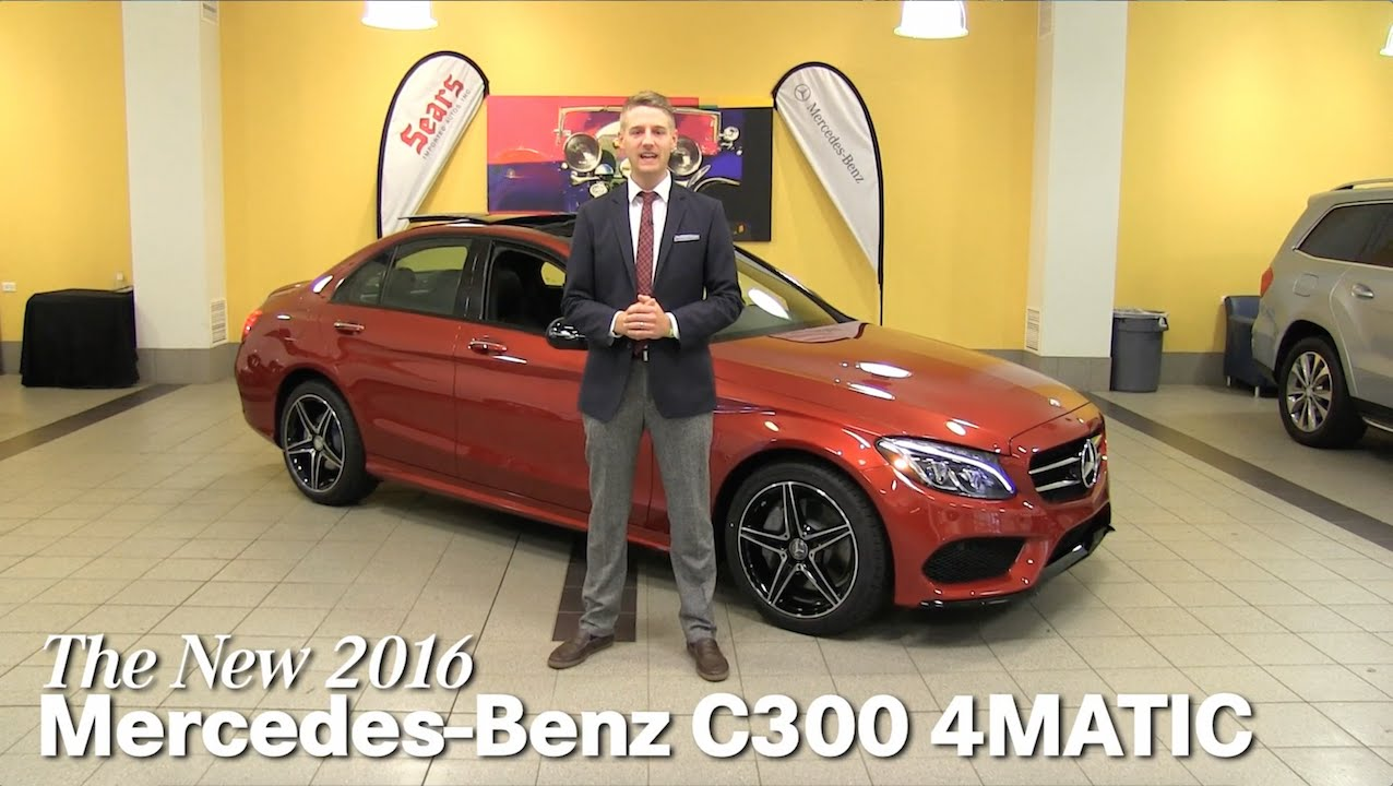 Review new 2016 mercedes benz c300 4matic c class for Mercedes benz bloomington mn