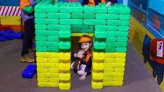 Learn professions with Smile Toys Review in Indoor playground for kids |