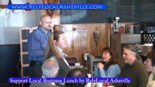 RelyLocal Asheville Support Local Business Lunch Promo Video
