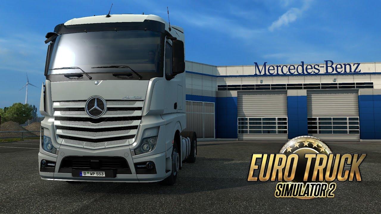 Euro Truck Simulator 2. New Mercedes-Benz Actros MP4 ...