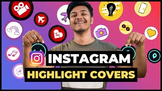 How To Create Instagram Story Highlight Covers | Make Instagram Highlight Icons (Quick & Easy)
