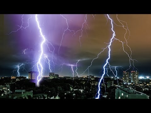 Nature Sounds, Stress Relief, Thunderstorm, Meditation, White Noise Rain Sounds, Relax, ☯3300