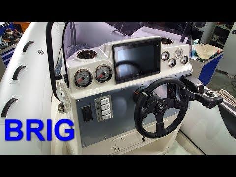 RIB BRIG. Проект по оснащению и тюнингу риба БРИГ Навигатор.