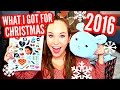 WHAT I GOT FOR CHRISTMAS 2016: Christmas Haul & Gift Ideas