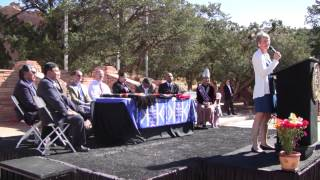 Navajo Nation $554 Million Trust Settlement Agreement Signing Ceremony