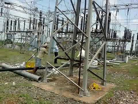 132KV cable laying  2
