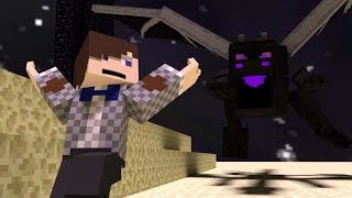 Minecraft for Kids - Adventure - Fight the Ender Dragon! S2 E15