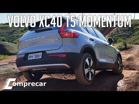 Avaliação: Volvo XC40 T5 Momentum
