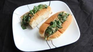 Mean Green Sloppy Joe Sandwich (8.20.12 - Day 8) Vegan Creamed Spinach Recipe