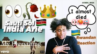 Sauti Sol - My Everything ft. India.Arie (Official Video) Reaction Video | Chris Hoza