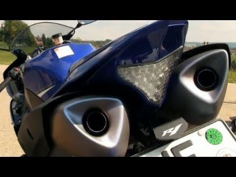 Vergleich Straßenmotorräder - Yamaha YZF-R1 - Action und Sound