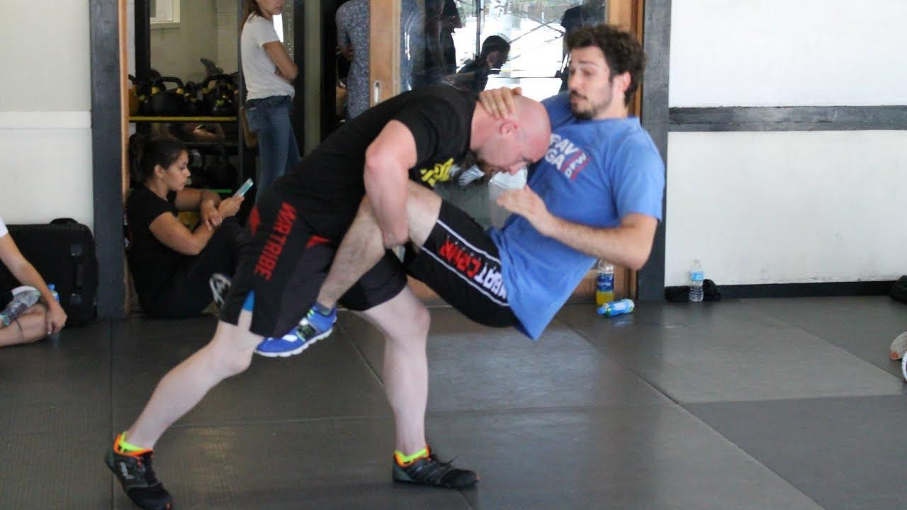 Mike Hooker 3rd Degree Black Belt Krav Maga Alliance Test Clips