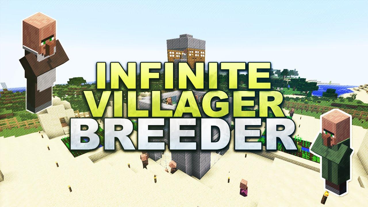 Minecraft - Infinite Villager Breeder - Tutorial 1 13