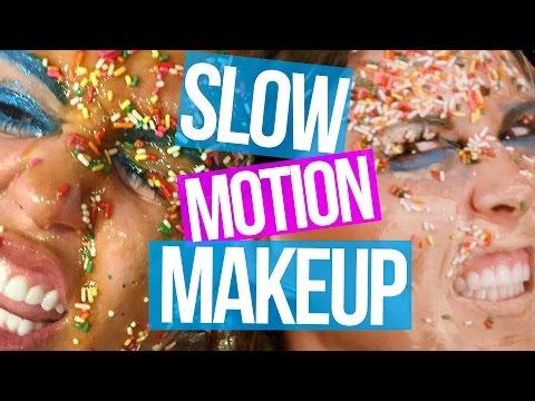 Slow Motion Celeb Makeovers (Beauty Break)