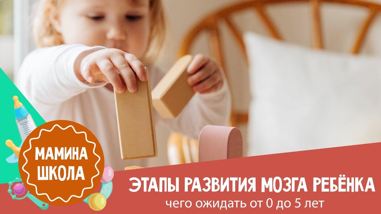 Развитие ребёнка от 0 до 5 лет