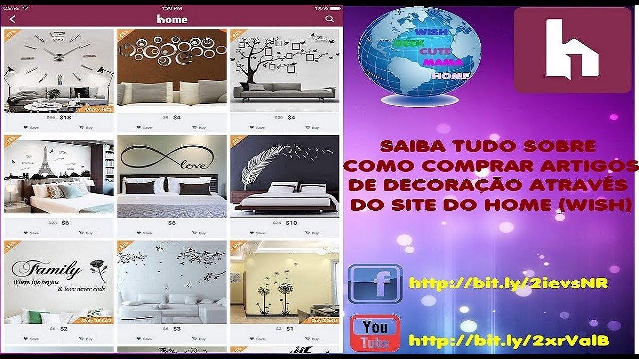 Comprar No Site Do Home Wish E Confiavel