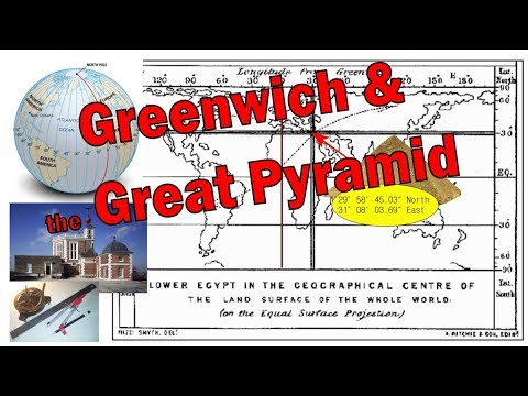 Greenwich & the Great Pyramid -Hermetic Time & Mapping inc Australia