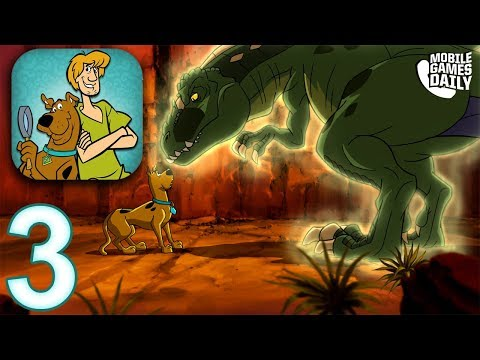 SCOOBY DOO MYSTERY CASES Gameplay Walkthrough Part 3 - Attack of the Ghost Raptor (iOS Android)