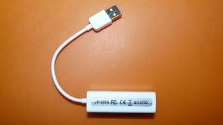 Сетевая карта USB для Android Win Mac обзор