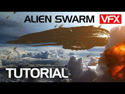 Make an Alien Swarm from Ender's Game | VFX tutorial | Crest VFX