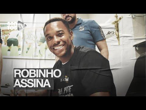 OS BASTIDORES DO RETORNO DE ROBINHO AO SANTOS