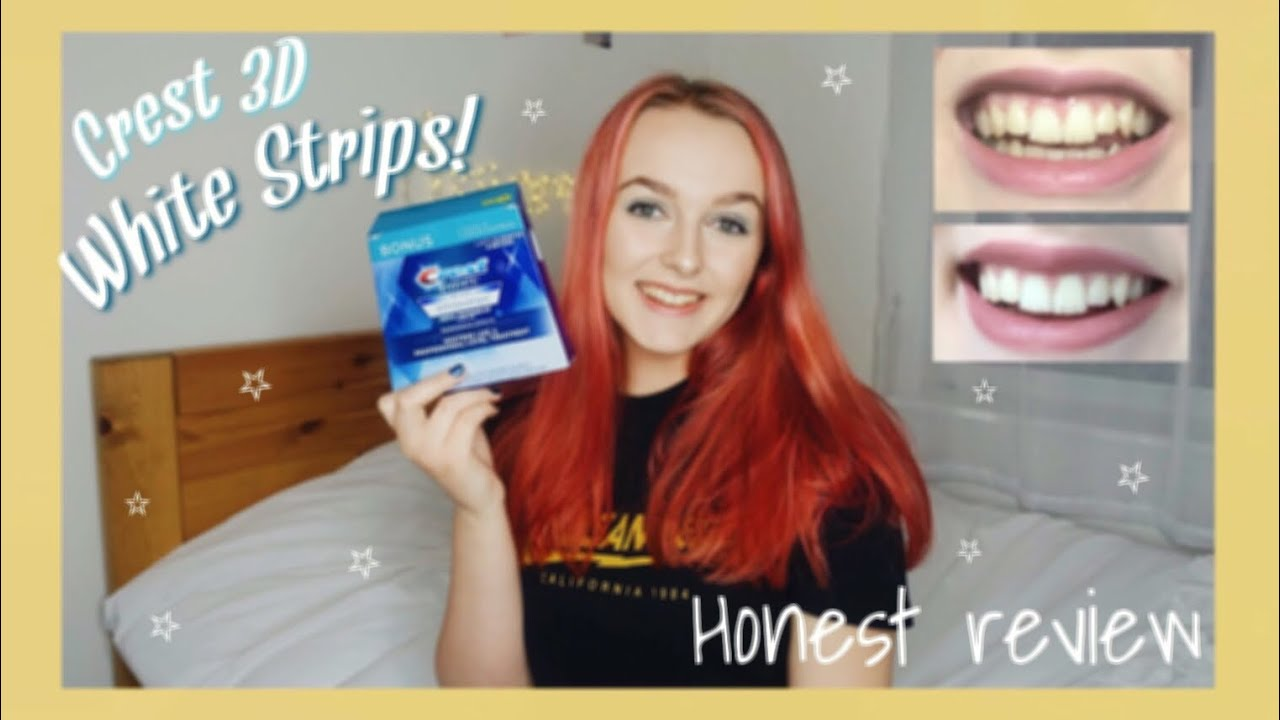 Testing Crest 3d Whitestrips Honest Review And Unboxing Youtube