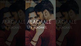 Azhagaale Un Azhagaale  | Usuraye Tholachen Whatsapp Status | Tamil Album Song | Full Screen