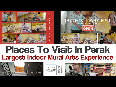 Places To Visit In Perak    Wisma Chye Hin Ipoh 1st Indoor Mural Arts   Ipoh Best Places To Visit
