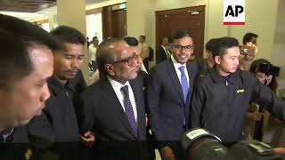 Malaysia ex-PM's lawyer charged with money laundering