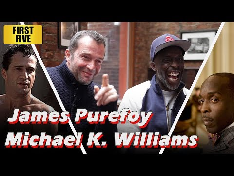 First Five  Hap and Leonard's James Purefoy and Michael K. Williams