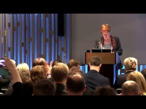 Tarja Halonen, Former President of Finland - Opening 19.–20.4.16