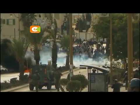 President Trump's recognition of Jerusalem sparks clashes