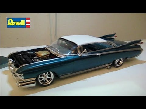 Cadillac 2.0 T >> Revell 1959 Cadillac Eldorado Modified Model Build -Time Lapse - YouTube