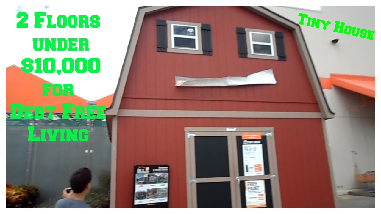 Under 10 000 2 Floor Shed House For Debt Free Living No