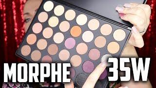 "Affordable 35 Shade Palette (2018) ""MORPHE 35W 35 COLOR WARM PALETTE"" | Claire Tutorials"