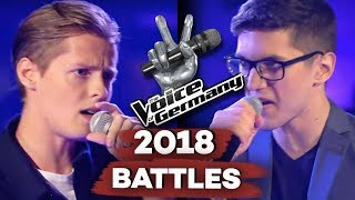 Justin Timberlake - Cry Me A River (Benjamin Dolic vs. Stefan Celar)| The Voice of Germany | Battles